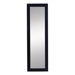 Homcom® Schmuckschrank Spiegelschrank Wandspiegel Wandschrank mit Spiegel (schwarz) -