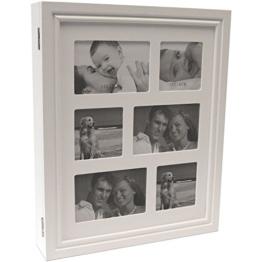 Schmuckkommode inklusive Bildergalerie 6 Fotos Schmuckkasten Schmuckkästchen Schmuckschrank 36x44x7cm Schmuck Weiß -