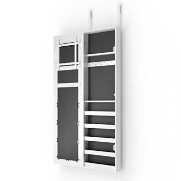 Schmuckschrank Spiegelschrank Hängeschrank Türmontage/Wandmontage Schmuckkasten Wandspiegel Lea -